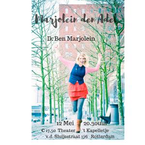 Ik ben Marjolein theatervoorstelling